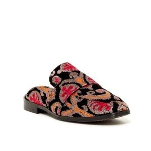 Free People At Ease Embroidered Mule
